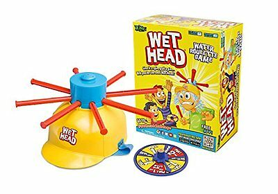 Game Wet Head new water roulette toy zing fun for kids family outdoor challenge