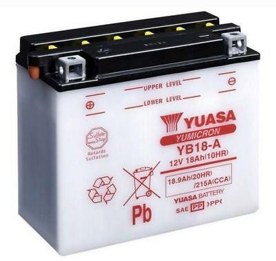 Genuine Yuasa YB18-A Motorbike Motorcycle 12V Battery