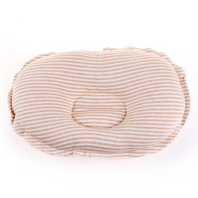 Baby Infant Newborn Pillow Sleep Positioner Anti Roll Prevent Flat Head Cushion