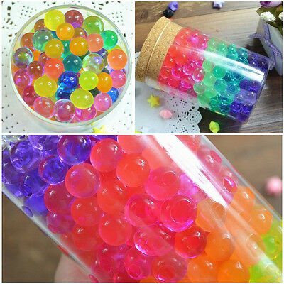 5/10/20/50bags Jelly Crystal Mud Soil Water beads flower plant magic ball New