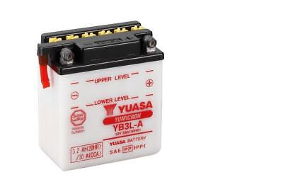 Genuine Yuasa YB3L-A Motorbike Motorcycle Scooter 12V Battery