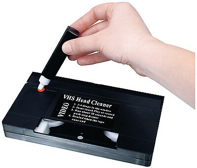 HQ VHS Video Recorder Head Cleaner - BRAND NEW IN PACKAGING