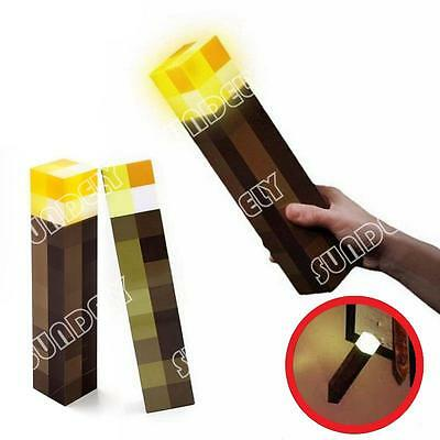 Light Up Mountable Torch Wall Night Lamp Fun Toy Kids Gamer Gift 1Pcs