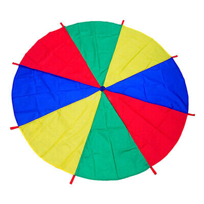 2/3M Outdoor Playing Rainbow Parachute Group Activity Games for Children Kids