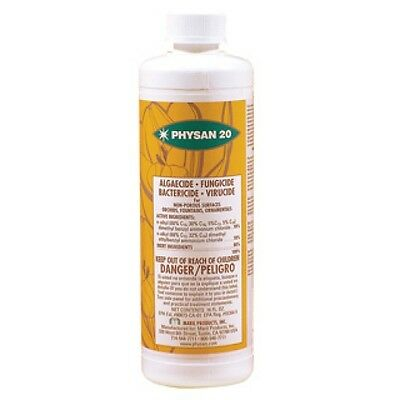 Physan 20 concentrate 16oz pint, fungicide