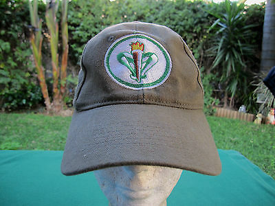 Israel Scouts - Visor Cap / Hat W/ Embroidered Sign ! Auth. New. Unique. Amazing