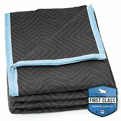 """Ultra Thick Pro Moving Blanket Padded Furniture Pads 1 Blanket 72"""" x 80"""""""