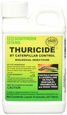 Thuricide HPC 8oz Caterpillar & Worm Control 15% OMRI Southern Ag