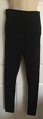 Bnwt Marks & Spencer Maternity Black Over Bump Leggings Size 8/10/16/18