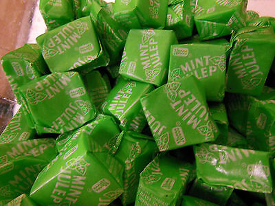 Mint Julep Candy Chews 2 Pounds Necco Green Mints