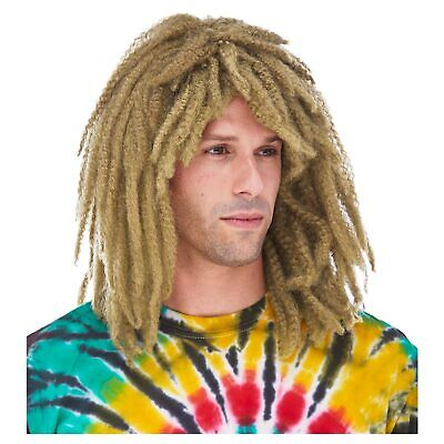 Dreadlocks Dreads Surfer DUDE Bob Marley RASTA WIG Dirty BLONDE