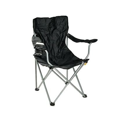 Camping Chair Outdoor Folding Camp Canvas Seat Portable Fishing Tailgate Picnic