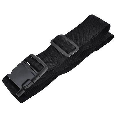 Quick Release Buckle 3 Digits Black Lock Luggage Strap H1