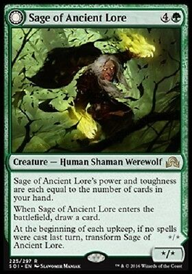 Magic The Gathering // Shadows Over Innistrad // Sage Of Ancient Lore