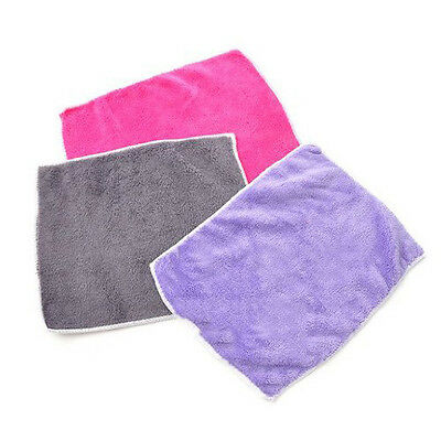 Absorbent Lint Free Kitchen Cleaning Oilproof Microfiber Cleaning Cloth/Rag H1