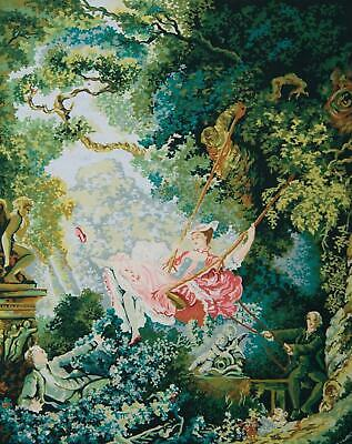 Grafitec Printed Tapestry/Needlepoint Kit – The Swing (Fragonard)