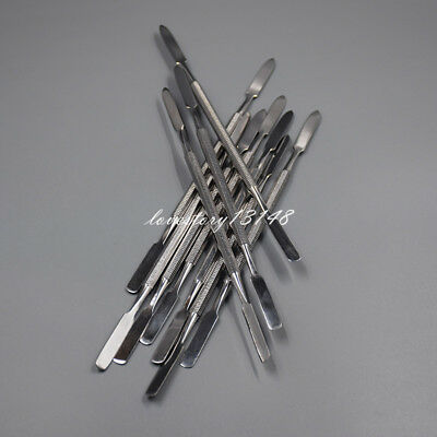 10 Pcs Dental Cement Spatula Wax Amalgam Mixing Spatula German Stainless Steel