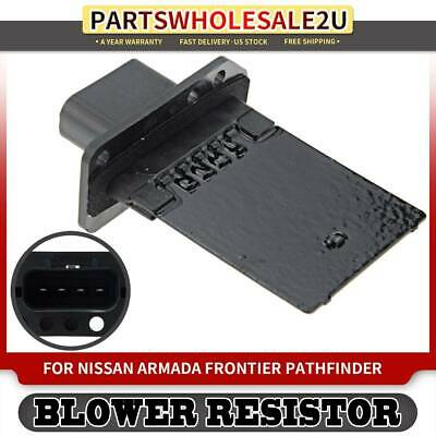 New blower motor resistor front or rear for nissan for Nissan quest blower motor resistor