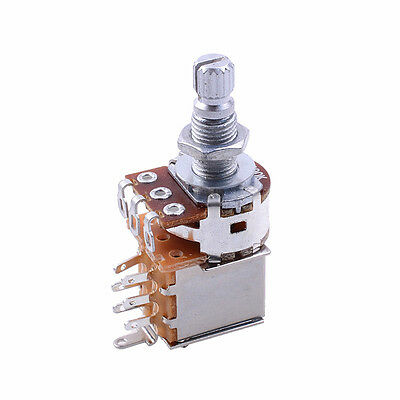 3 pieces b500k push pull electric bass guitar control pot guitar control pot b500k push pull potentiometer guitar part chrome