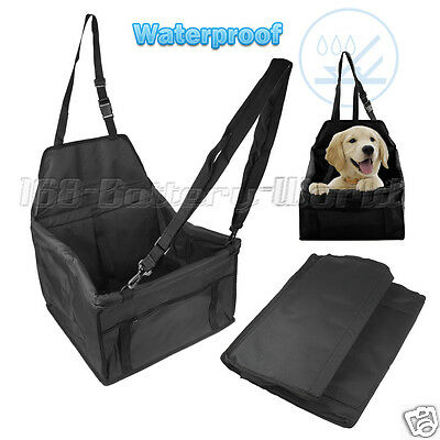 Safety Folding Dog Cat Puppy Pet Car Seat Carrier Cover Booster Bag Waterproof
