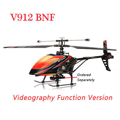 WLtoys V912 Sky Dancer 4CH Helicopter BNF with Videography Function