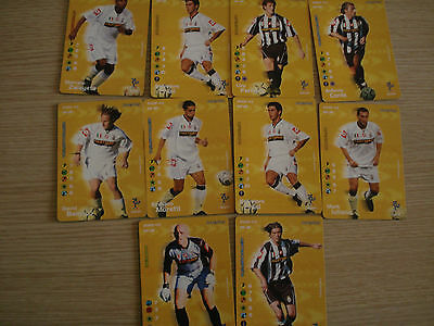 Lotto 10 Cards Football Champions 2002-03 2003 Fc Juventus Vendo Singole