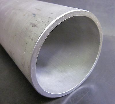 """6.6""""OD x 6.35""""ID x 48"""" Long (1/8"""" Wall) - 304 Stainless Steel Tube Pipe"""