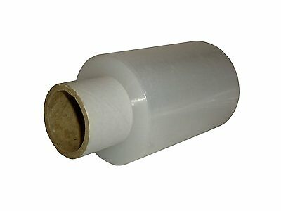 1x Roll MINI 100mm x 150m Clear Hand Pallet Cling Stretch Wrap Shrink Film!