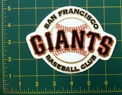 """SAN FRANCISCO GIANTS BASEBALL CLUB OFFICIAL MLB PATCH  5.25"""" size"""