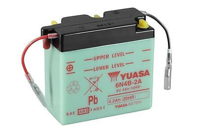 Genuine Yuasa 6N4B-2A 6V Motorbike Motorcycle Battery