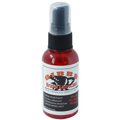 Gibbs Brand Lubricant, Penetrant, Water Repellent, Fights Corrosion 2 oz Bottle