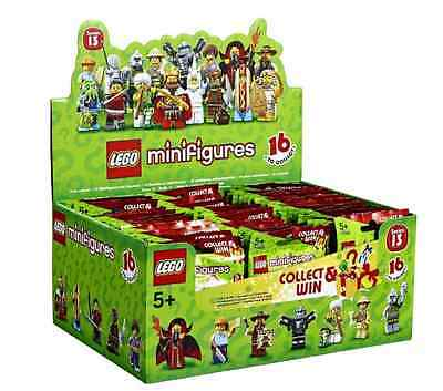 Lego New Series 13 Sealed Case Of 60 Minifigures Minifigs Box 71008