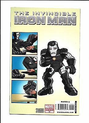 Invincible Iron Man #19 Variant (9.0) Marvel