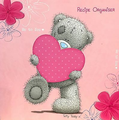 New Me To You Recipe Organizer In Pink - Very Cute And Handy Gift Rrp £9.99!!