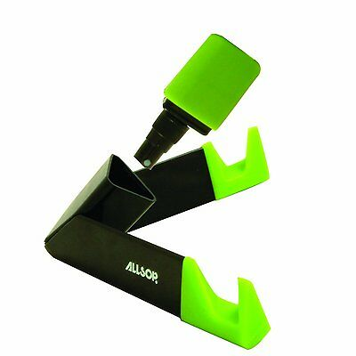 Allsop Universal Tablet Stand with Integrated Cleaning Fluid and Cloth