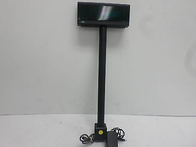 Bematech Logic Controls POS Customer Pole Display - Black