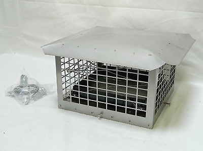 Stainless Steel Damper-Chimney Combo w/Accessories *Brand New*