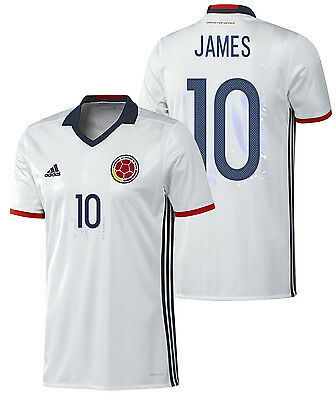 b554b1b1928 Adidas James Rodriguez Colombia Home Jersey Copa America 2016.