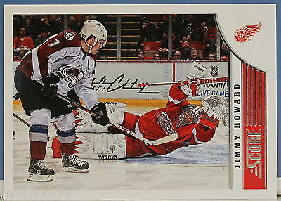 Panini NHL Score 2013-2014 Karte Nr.165 Jimmy Howard