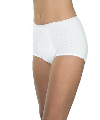 Wearever for Women Super Incontinence Panties Washable Cotton Underwear Panty