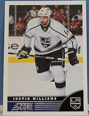 Panini NHL Score 2013-2014 Karte Nr.223 Justin Williams