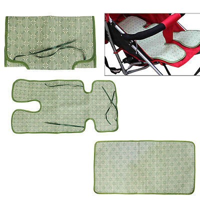 Baby Cool Mat Non Toxic Cooling Pad Cushion Pushchair Straw Mat Seat Pad Liner