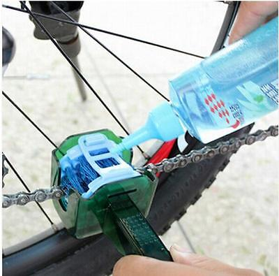 Cycling Bike Bicycle Chain Cleaner Multi Tool Set Flywheel Clean Wash Kit