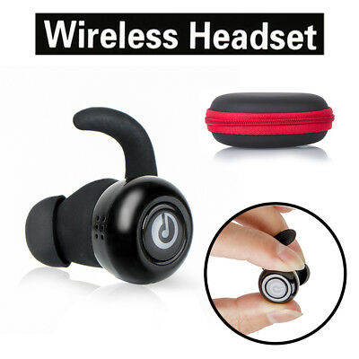 Wireless Sports Bluetooth V4.1 Headphone Earbuds Headset Earphone Magnet In-Ear