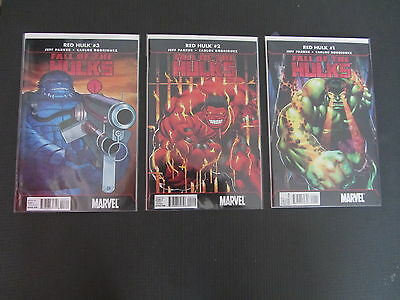 Red Hulk 1-3 Fall of the Hulks NM Complete Series (Marvel 2010) Combine Shipping