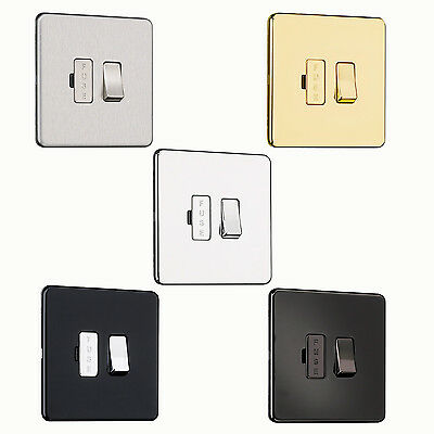EXCLUSIVE PROMOTION Screwless Flat plate 13A Switched Fused Spur