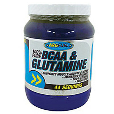 NRG Fuel 100% Pure BCAA & Glutamine 500g