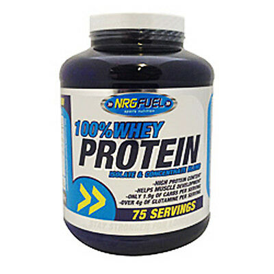 NRG Fuel 100% Whey Protein 2.27kg