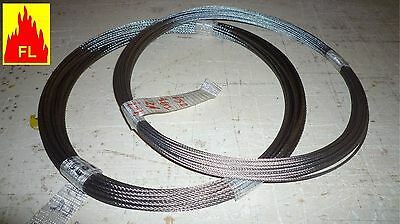 Cable inox 316 L  A4    7  x  7    Ø 1,5 mm à 6 mm