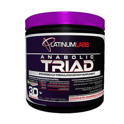 Platinum Labs Anabolic Triad 120g Green Apple